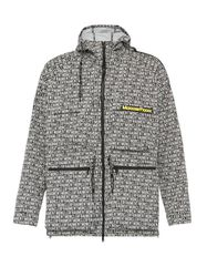 Veste zippée à logo imprimé - 7 Moncler Frgmt Hiroshi Fujiwara - Modalova