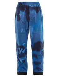 Pantalon de ski technique à imprimé tie-dye - 3 MONCLER GRENOBLE - Modalova