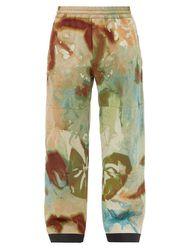 Pantalon de ski à imprimé tie-dye - 3 MONCLER GRENOBLE - Modalova