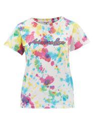 T-shirt en jersey de coton tie-dye à logo Ally - Arizona Love - Modalova