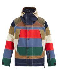 Manteau de ski rayé rembourré de duvet Chetoz - Moncler Grenoble - Modalova