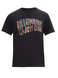 T-shirt en jersey de coton à imprimé logo confetti - Billionaire Boys Club - Modalova