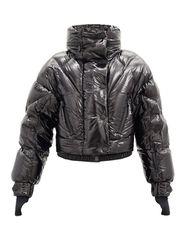 Veste matelassée raccourcie en duvet à capuche - 3 MONCLER GRENOBLE - Modalova