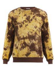 Sweat-shirt en chenille de coton tie-dye Ikeja - Post-Imperial - Modalova