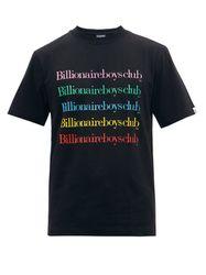 T-shirt en jersey de coton et imprimé logo Repeat - Billionaire Boys Club - Modalova