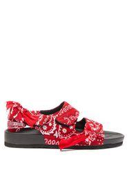 Sandales à semelle moulée et imprimé Apache - Arizona Love - Modalova