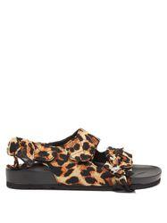 Sandales à imprimé léopard Apache - Arizona Love - Modalova