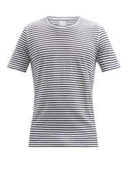 Lino - T-shirt en jersey de lin rayé - 120 Lino - Modalova