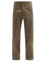 Pantalon en sergé de coton mélangé Padre - YMC - Modalova