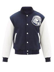 Veste teddy en feutre à empiècement Astro - Billionaire Boys Club - Modalova