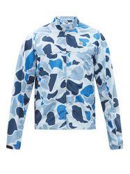 Veste imperméable à imprimé camouflage et appliqué - Billionaire Boys Club - Modalova