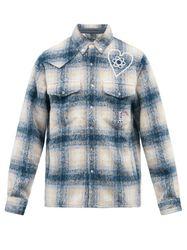Chemise en flanelle brossée à carreaux - Billionaire Boys Club - Modalova