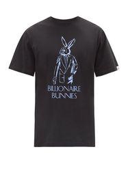 T-shirt en jersey de coton à imprimé logo Bunnies - Billionaire Boys Club - Modalova