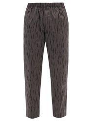Pantalon rayé en coton indéchirable à logo brodé - Billionaire Boys Club - Modalova