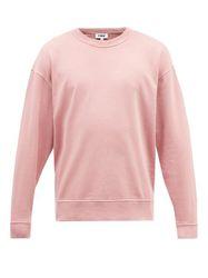 Sweat-shirt en jersey de coton bouclé Daisy - YMC - Modalova