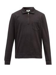 Sweat-shirt zippé en jersey de coton Sugden - YMC - Modalova