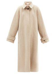 Manteau oversize en laine mélangée - Raey - Modalova