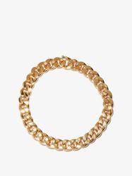 Collier en argent sterling plaqué or - Bottega Veneta - Modalova