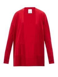 Allude - Cardigan ouvert en laine - Allude - Modalova