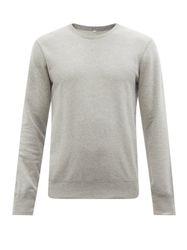 Sweat-shirt col ras du cou en coton éponge - Reigning Champ - Modalova