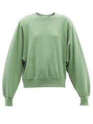 Sweat-shirt en coton à épaulettes Vanessa - The Frankie Shop - Modalova