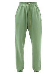Pantalon de jogging en jersey de coton Vanessa - The Frankie Shop - Modalova