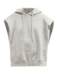 Sweat-shirt sans manches en jersey de coton Alex - The Frankie Shop - Modalova