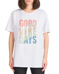 Stella - t-shirt good vibe only multicolor - Shiki - Modalova