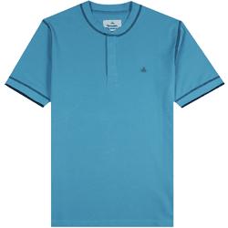 Grandad Collar Polo Shirt Blue - BLUE - Vivienne Westwood - Modalova