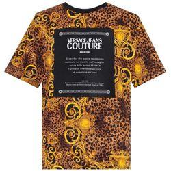 Baroque Print T-Shirt - EXTRA SMALL - Versace Jeans Couture - Modalova