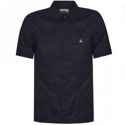 Orb Logo Short Sleeve Shirt - SMALL - Vivienne Westwood - Modalova
