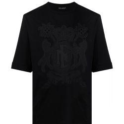 Coat-of-arm T-shirt - BLACK LARGE - Neil Barrett - Modalova