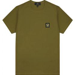 Men's Short Sleeve Tee Green - SMALL - Belstaff - Modalova