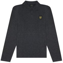 Men's Long Sleeved Polo - SMALL - Belstaff - Modalova