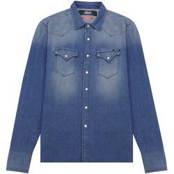 Denim Shirt - BLUE LARGE - Replay - Modalova