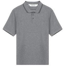 Men's Stretch Cotton Short-Sleeve Polo - SMALL - Z Zegna - Modalova