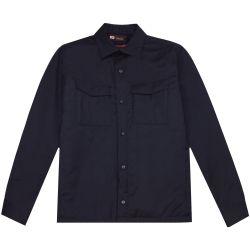 Men's TECHMERINO™ Wool Overshirt - SMALL - Z Zegna - Modalova