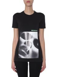 Dsquared crewneck t-shirt - dsquared - Modalova