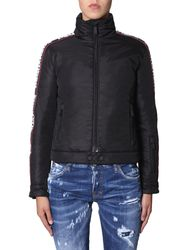 Dsquared down jacket with logo band - dsquared - Modalova
