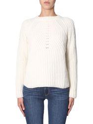 Aspesi crew neck sweater - aspesi - Modalova