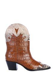 Paris texas crocodile print boot - paris texas - Modalova