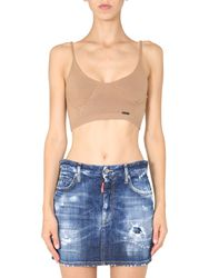 Dsquared knitted top - dsquared - Modalova