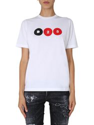Dsquared renny fit t-shirt - dsquared - Modalova