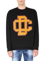 Dsquared college fit sweatshirt - dsquared - Modalova