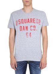 Dsquared round neck t-shirt - dsquared - Modalova