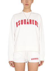 Dsquared cool fit logo sweatshirt - dsquared - Modalova
