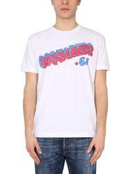 """Dsquared """"retro 64"""" t-shirt - dsquared - Modalova"""