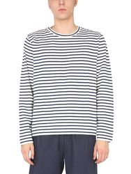 "Ymc ""x"" striped sweatshirt - ymc - Modalova"