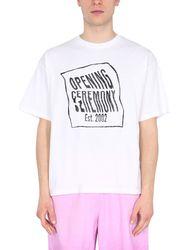 T-shirt with logo box - opening ceremony - Modalova