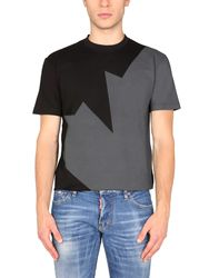 Dsquared cool fit printed t-shirt - dsquared - Modalova
